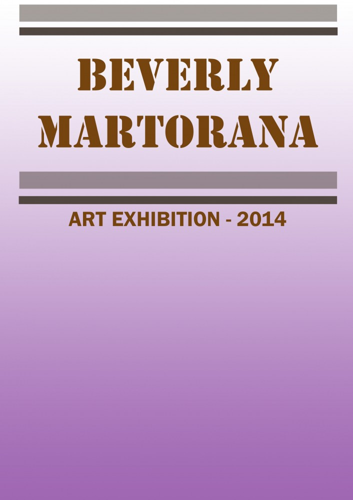 Beverly Martorana - Art Exhibition by John Hipwell