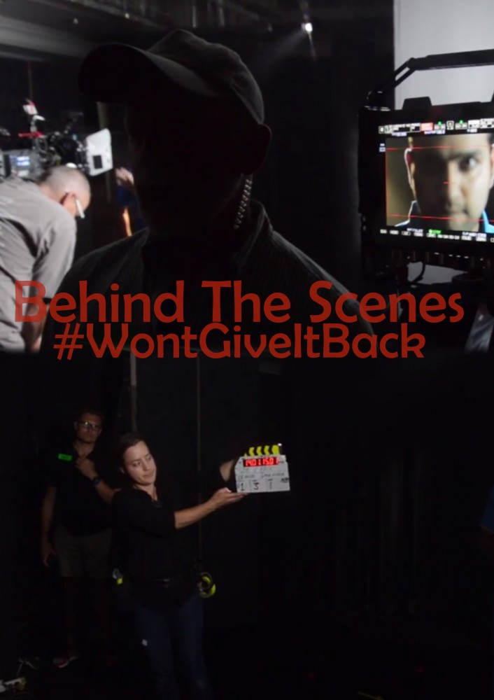 Behind The Scenes - We Wont Give It Back by John Hipwell