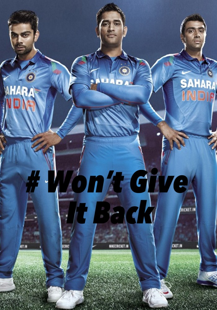 ICC Cricket World Cup 2015 - #WontGiveItBack by John Hipwell