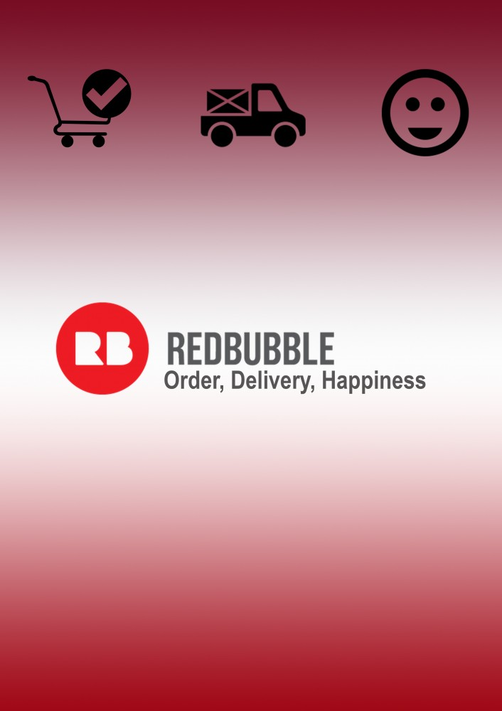 Unpacking Redbubble - Order, Delivery, Happiness by John Hipwell